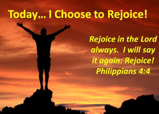 Image result for rejoice in the lord