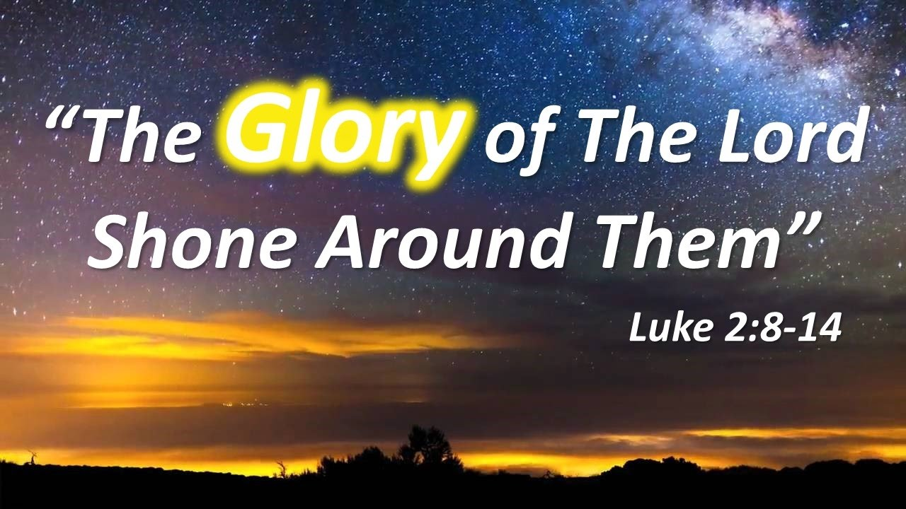 and the glory of the lord We may not often think about it, but the glory of god is integral to our  they  looked toward the wilderness, and behold, the glory of the lord.