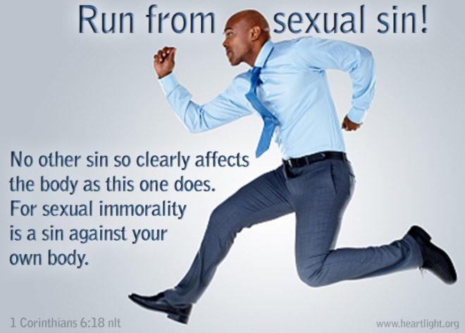 Flee from sexual sins